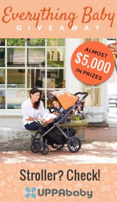 "Want to win the ""Land Rover"" of strollers (as one weeSpring parent wrote)?  Enter to win an @UPPAbaby Vista, amongst other amazing prizes in our #everythingbaby giveaway!"