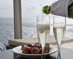Toast to a romantic getaway.
