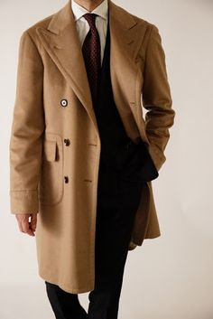 RING JACKET MEISTER 206 POLO COAT  COMPOSITION : CASHMERE 90% , VICUNA 10%