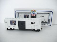 PROTOTYPE H-O BOXCAR JOE PATERNO 409 WINS PREPRODUCTION SAMPLE ONLY 24 MADE