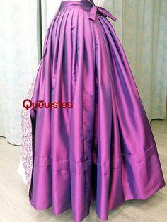 Quevistes Taller de costura: Falda baturrra de mujer mod.031