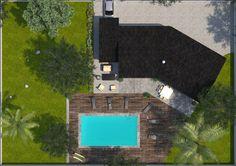 Plan maison neuve à construire - Maisons France Confort Emeraude 100 Elégance