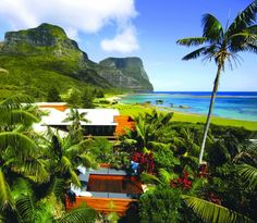 Capella Lodge rests above Lord Howe Island's tiny, secret beach at Lover's Bay and at the foot of the imperious twin peaks, Mounts Gower and Lidgbird. http://lordhowe.com/