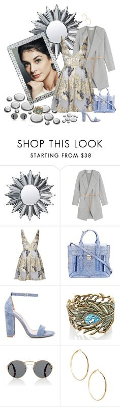 """Sem título #1056"" by patcamppos ❤ liked on Polyvore featuring Baccarat, Vanessa Bruno, Notte by Marchesa, 3.1 Phillip Lim, Steve Madden, Heidi Daus, Prada and GUESS by Marciano"