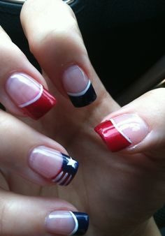50 Patriotic Mani Ideas For The 4th Of July