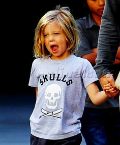 Shiloh Jolie-Pitt so cute