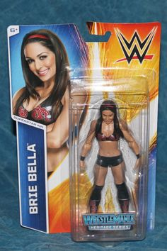 WWE Brie Bella Series 48 #21 WRESTLEMANIA Basic Mattel Wrestling Action FIGURE Wrestling Figure wwe nwo roh ecw Superstars by TheWrestlingBurn on Etsy