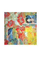 Silk Square Scarf - Mom's Garden Paradise by VIDA Original Artist Square Scarf, Paradise, Deviantart, Mom, Garden, Artist, Artwork, Inspiration, Beautiful