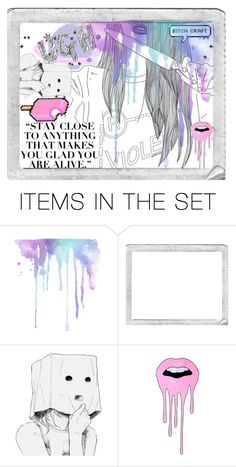 """""""She Was Pretty In The Kind Of Way That She'd Run A Dagger Through Your Heart And Still Keep Smiling The Whole Time"""" by i-am-the-one-and-only ❤ liked on Polyvore featuring art"""