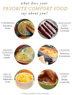 What Your Favorite Comfort Food Says About You // Plus Recipes!