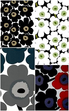 Consider some pops of colour with modern design classics from Marimekko
