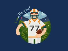 Football Player by FIVE DIMENSION STUDIO