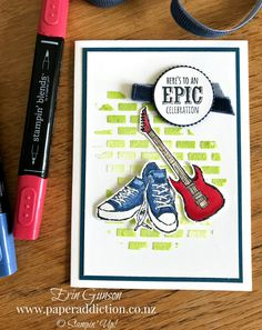 Paper Addiction – Stampin' Up! Sale-a-bration Epic Celebrations Boy Cards, Kids Cards, Birthday Cards For Boys, Male Birthday, Card Sketches, Masculine Cards, Homemade Cards, Stampin Up Cards, Making Ideas