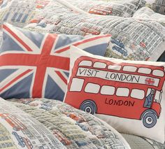 Loved the double decker pillow for Jack's room