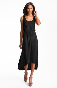 Free shipping and returns on FELICITY & COCO High/Low Hem Jersey Tank Dress (Nordstrom Exclusive) at Nordstrom.com. A comfortable elasticized waistband and on-trend high/low hemline define the casual-chic silhouette of a soft jersey tank dress.
