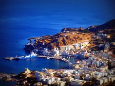 Pigadia: Capital city of Karpathos Island Karpathos Greece, Travel Log, Greece Islands, Home And Away, Capital City, Crete, Places Ive Been, Beautiful Places, Country