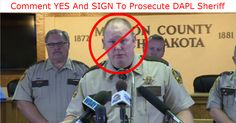 Add your name to demand the U.S. Department of Justice prosecute Morton County Sheriff Kyle Kirchmeier NOW!