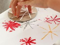 Fireworks Craft for Kids {Patriotic Activities}