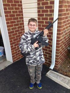 Child welfare officials raid NJ home over photo of boy with gun