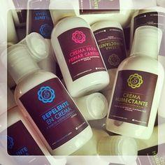 Repelent, body cream, leave-in hair cream