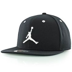 new products 73ec9 5de66 JORDAN JUMPMAN Snapback Cap black white