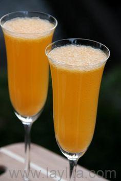 Receta del coctel de mandarina