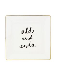 """Last-Minute Holiday Gift Picks: Kate Spade Daisy 'Odds and Ends"""" Square Dish"""
