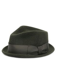 Want this!  Regent Trilby, forest green- Rag & Bone men's collection