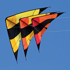 Called a Fleet Kite, this is dramatic and powerful.