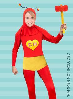 Disfraz Chapulin Colorado Costume (Adult)