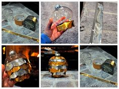 duck tape craft christmas ornament @cleverlyinspired (1)