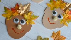 It's FUN fall themed kid craft idea that anyone can pull together! Check out our Silly Leaf Hair tutorial to be inspired! Fall Crafts For Kids, Toddler Crafts, Preschool Crafts, Kids Crafts, Fall Halloween, Halloween Crafts, Crown For Kids, Leaf Crafts, Fall Projects