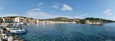 Gaios Our first stop in Paxos is at the graphical Gais, the capital and main port of the island, Loggos Lakka Health spas Antipaxi Venetian, Greece, Exotic, Spa, Island, Beach, Places, Travel, Greece Country
