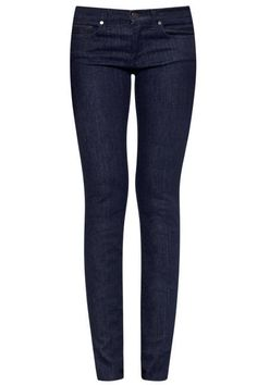 Women's Blue Dark Wash Skinny Jean | Pinterest | Dark denim ...