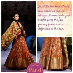 Parsi Saree Embroidery