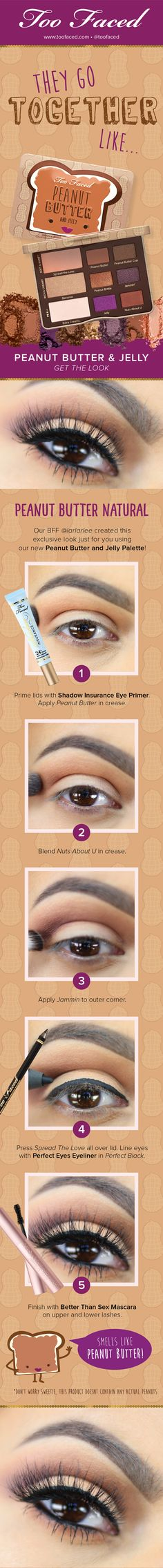 Too Faced Peanut Butter and Jelly Palette #toofaced