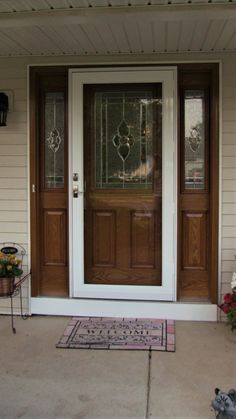 Replacement Residential Entry Door With Storm Door   Google Search | Entry  Door With Storm Door | Pinterest | Storm Doors, Doors And Interior French  Doors