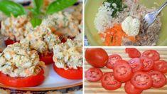 Chutné rajčinové jednohubky