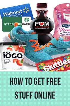 Who doesn't love free stuff? Learn how to get free stuff online, whether it's through free samples, coupons, or contests! Free Samples Canada, Get Free Samples, Stuff For Free, Canada Online, Love Is Free, Coupons, Sneakers, Tennis, Slippers