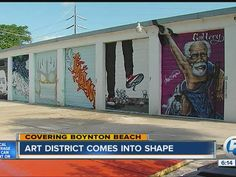 The Boynton Beach Art District is getting a facelift as volunteers work to revitalize an old industrial park near I-95. Artists have been working to ...