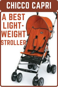 Chicco Capri Lightweight Stroller is an ultra-lightweight aluminum stroller featuring 2 position reclining seat, adjustable, removable canopy, and large basket. Its front wheel suspension make smooth journey on rough terrains. This best compact stroller has umbrella style fold, carry bag and shoulder carry strap. #beststroller #bestlightweightstroller #bestbabystroller #babystroller #stroller Toddler Stroller, Best Baby Strollers, Double Strollers, Twin Strollers, Toddler Toys, Best Lightweight Stroller, Best Double Stroller, Single Stroller, Shopping