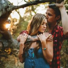 A moody and beautiful Orange County engagement session shot by Matthew Morgan.