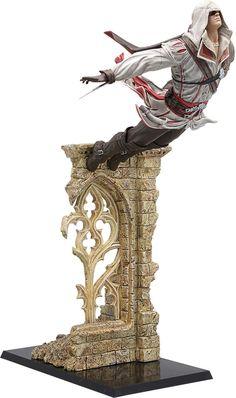 Assassin's+Creed+II+statuette+Leap+of+Faith+Ezio+Gaya+Entertainment