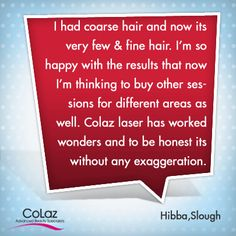 Our Satisfied Customer of Slough Branch was amazed with Results she got for the Treatments. Advanced Beauty, Coarse Hair, Laser Hair Removal, Fine Hair, Posh Hair, Thin Hair