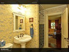 Love the shower tiles!