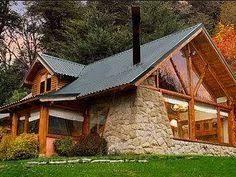resultado de imagen para casas de campo en madera y piedra jarabacoa