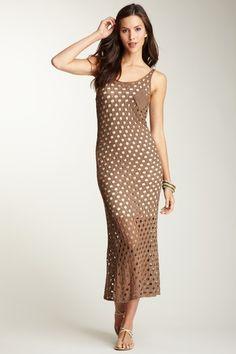 Crochet Maxi Dress by Fraiche By J on @HauteLook