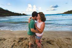 Kauai, Hawaii. Couple in love in Hawaii.
