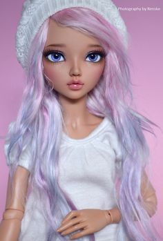 https://flic.kr/p/o38pwt | The new girl | Well, she has been here for some time but I was able to send her away for a face-up some time ago. Her name is Olivia. I really adore her already^^ I buyed this wig for her but I have still love it on Sascha too. But we will see which one gets this wig^^