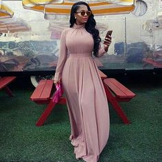 Wedding Guests Are Bringing Their A-Game - See Their Eye-Popping Fashion-Forward Statements - Wedding Digest Naija African Maxi Dresses, Latest African Fashion Dresses, African Print Fashion, African Attire, Women's Fashion Dresses, Funky Dresses, Elegant Dresses, Beautiful Dresses, Casual Dresses